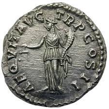 Roman coins Aequitas