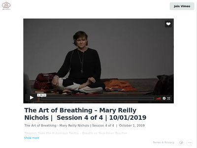 Art of Breathing /Tibet House NYC/2019